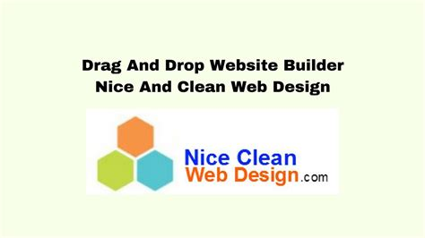 the problem with drag and drop web design drag and drop website builder best way to have a nice
