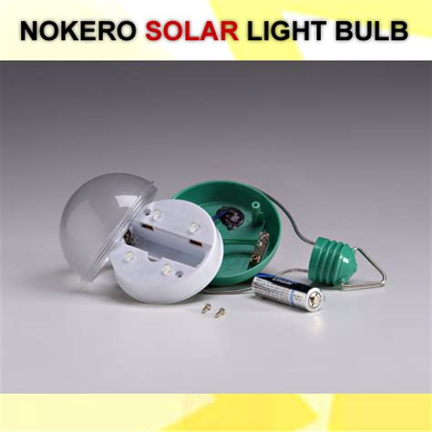 Nokero N200 Solar Light Bulb Nokeron200 Nokero Solar Light Bulb