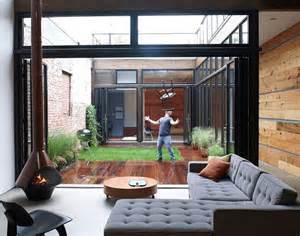 good Use Of Courtyards In Architecture #4: Atrium-House-Brooklyn.jpg