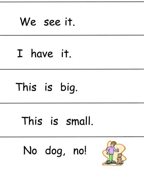 Kindergarten Sentence Worksheets by Using Sight Words In Sentences Worksheets New 189 Sight