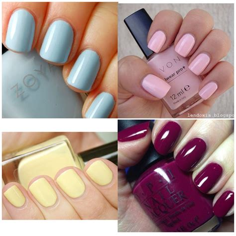 solid nail colors winter summer fall solid color nails