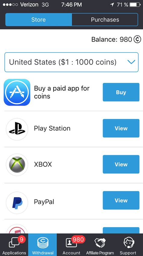 Gift Card Earning Apps - mobile earning from games and apps get paid to your mobile balance and pay for