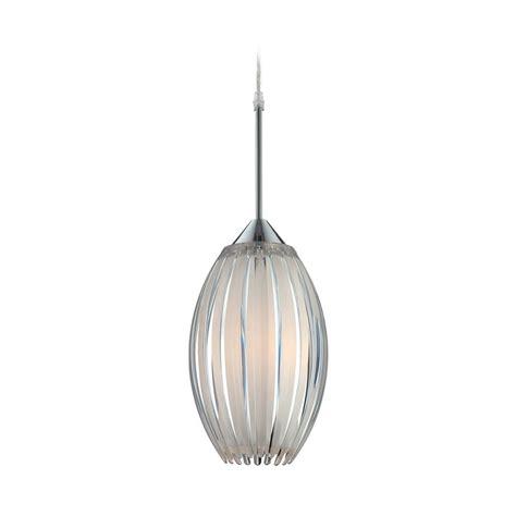 Oval Pendant Light Lite Source Lighting Lotuz Chrome Mini Pendant Light With Oval Shade Ls 19160 Destination