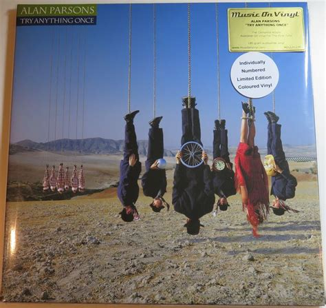 Kaset Alan Parsons Try Anything Once alan parsons try anything once 2lp 180 gram audiophile limited numbered edition on green