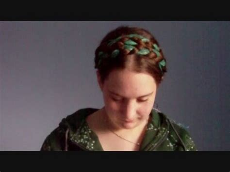 hair styles for round fair hair tutorial scarf series renaissance heidi braids