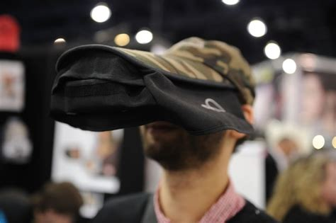 review the as seen on tv hat an iphone viewing visor