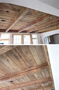 wood for ceiling best 25 pallet ceiling ideas on rustic walls