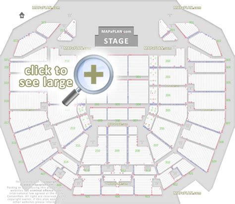 Floor Plan O2 by Perth Arena Seat Numbers Detailed Seating Plan Mapaplan Com