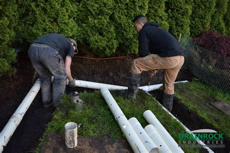 how to fix a wet backyard wet yard drainage surrey drainage contractor yard