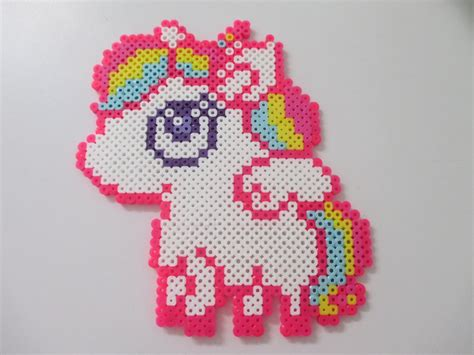 perler unicorn perler bead unicorn tutorial