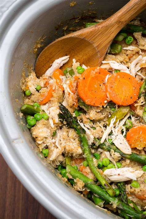 best slow cooker quinoa risotto recipe how to make slow