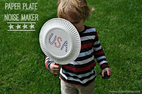 How To Make Noise With Paper - paper plate noise maker
