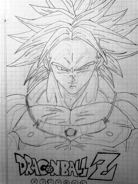 imagenes de broly para dibujar a lapiz 2 dibujos de dragon ball z arte taringa