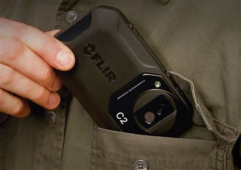 Kamera Flir C2 Pocket Thermal Termal Asli Ukuran Kantong flir c2 thermal imaging pocket sized and more affordable