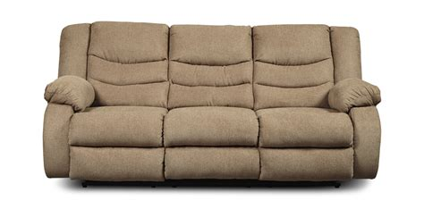 plante reclining sofa mocha hom furniture