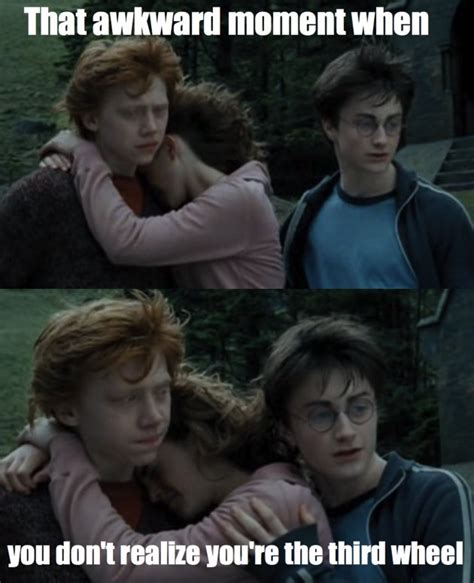 3rd Wheel Meme - you re a third wheel harry