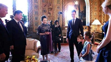 donald trump granddaughter chinese watch trump s granddaughter serenade china s president
