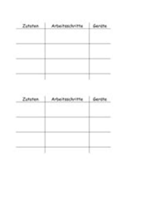 Word Vorlage Kochbuch 4teachers Lehrproben Unterrichtsentw 252 Rfe Und Unterrichtsmaterial F 252 R Lehrer Und Referendare