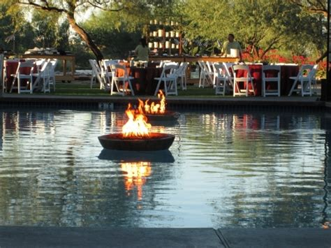 floating fire pit outdoor goods