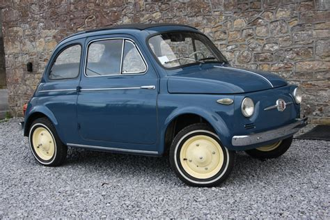old fiat 1959 fiat 500n in medium blue for sale classic original