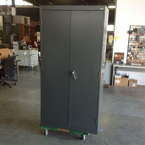 advanced liquidators 2 door metal storage cabinet 72