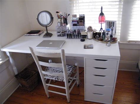 Ekby Alex Kitchen makeup organization storage makeupaddicts