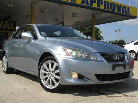 2007 lexus is 250 4dr sedan 2 5l v6 6a in austin tx 2007 lexus is250 awd cars for sale