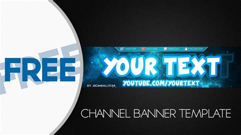14 Youtube Banner Psd T Images Free Youtube Banner Template Psd Anime Youtube Banner Template Gaming Banner Template Psd