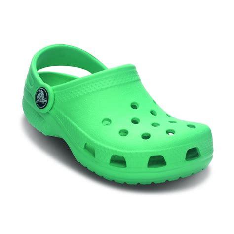 crocs kid shoes crocs classic shoe island green the original