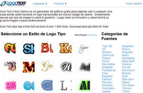 crear imagenes jpg online cool text crear logos online gratis