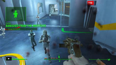 the institute of fallout 4 banished from the institute walkthrough polygon