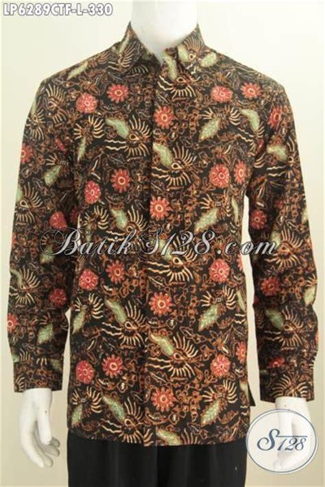 desain baju unik keren pakaian hem batik lengan panjang full furing baju batik