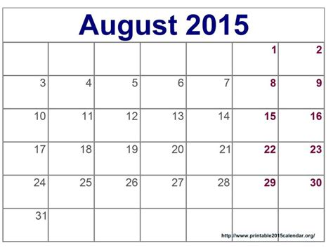 printable planner august 2015 time and date august 2015 calendar full templates for you