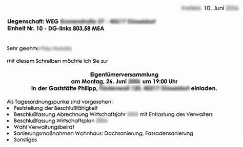 Muster Einladung Weg Versammlung Weg Verwalter Beauftragt Teures Unn 246 Tiges Gutachten