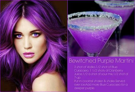 martini purple purple martini cool drinks