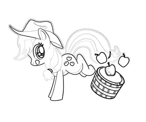 free coloring pages applejack 18 my little pony applejack coloring page