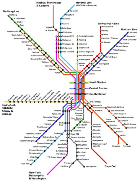 Just Ask Will We See Commuter Rail From Portland | fantasy future map boston mbta commuter rail transit