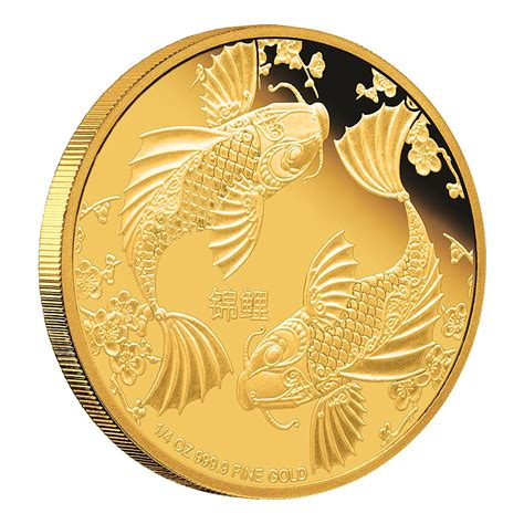 feng shui coins feng shui gold coin koi new zealand mint