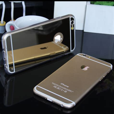 Mirror Iphone Samsung soft reflective mirror phone for iphone and samsung