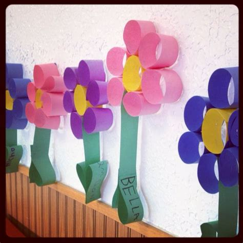 Paper Flower Craft For Preschoolers - preschool flower craft crafts and worksheets for