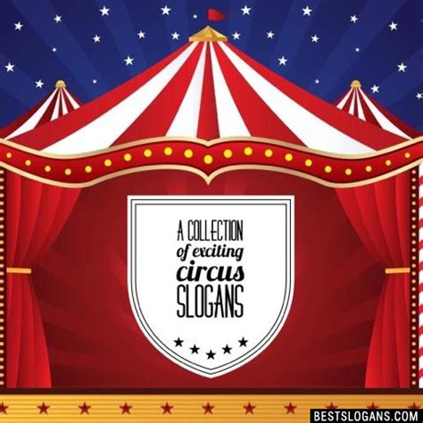 carnival themes and slogans catchy circus slogans taglines mottos business names