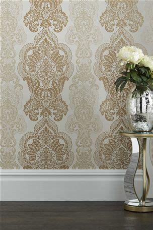 kingsbury wallpaper gold buy kingsbury gold wallpaper from the next uk online shop