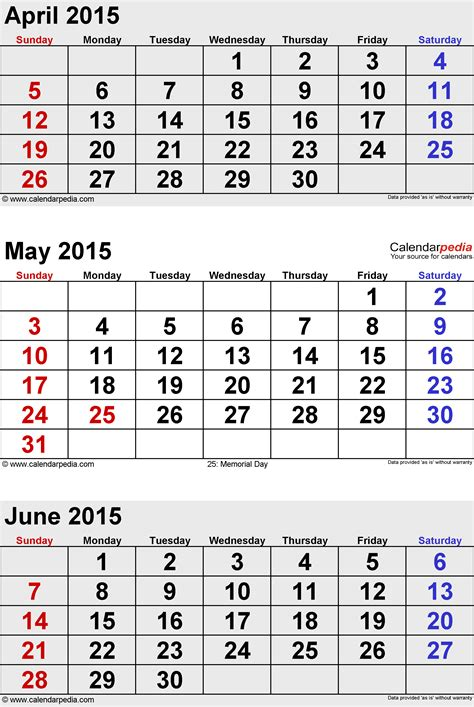 Calendar 2015 July To December June 2015 Calendars For Word Excel Pdf