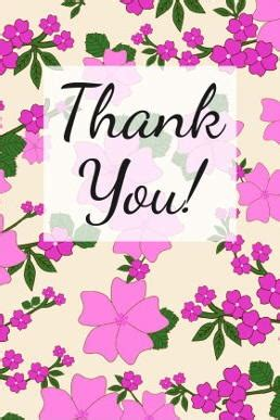 beautiful thank you card template beautiful blooms free thank you card printable