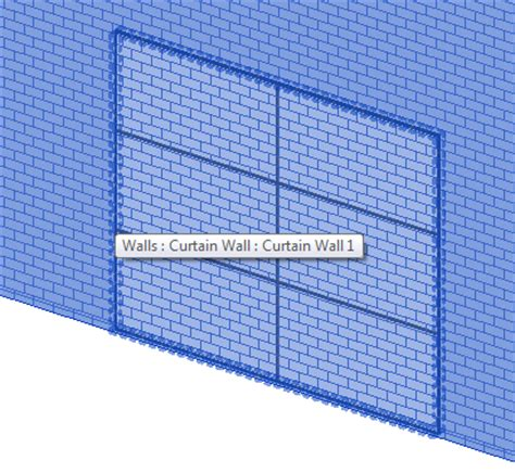 curtain wall definition the bim jedi formally the revit jedi curtain wall in a wall