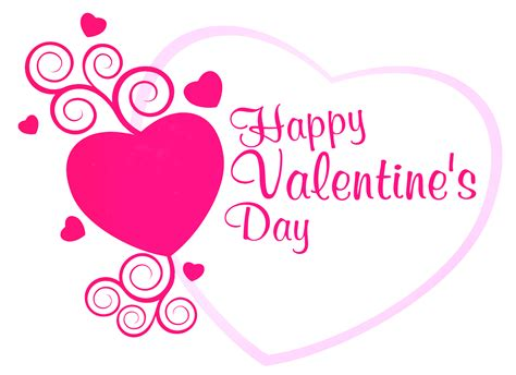 valentines for clipart of happy day