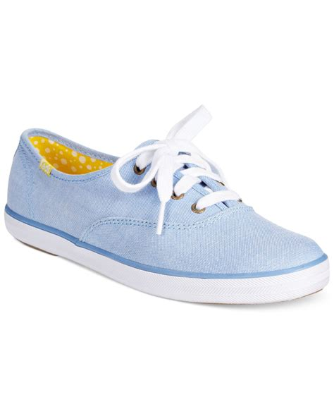 keds shoes lyst keds s chion oxford sneakers in blue