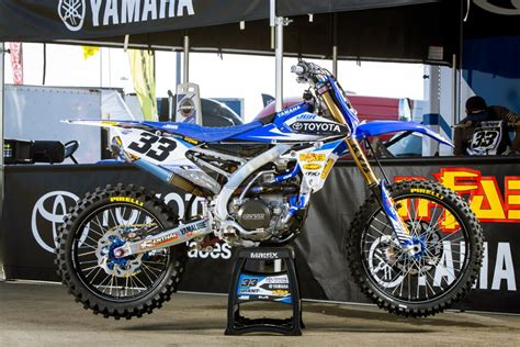 motocross racing 2014 racing caf 232 yamaha yz 450f team jgrmx toyota supercross