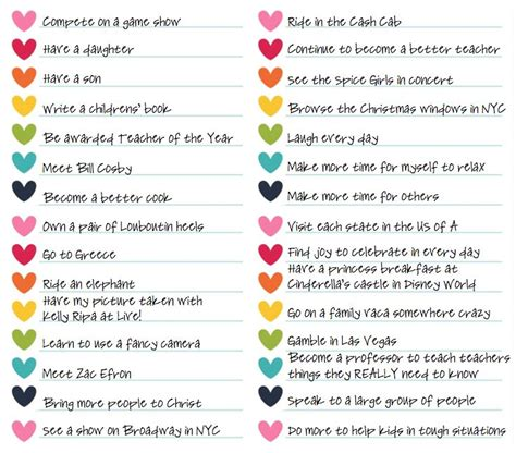 life themes list 30 before 30 and after ideas for a bucket list plus a