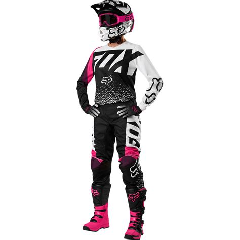fox motocross kits 2018 fox racing youth girls 180 gear kit black pink